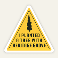 I planted a tree with Heritage Grove