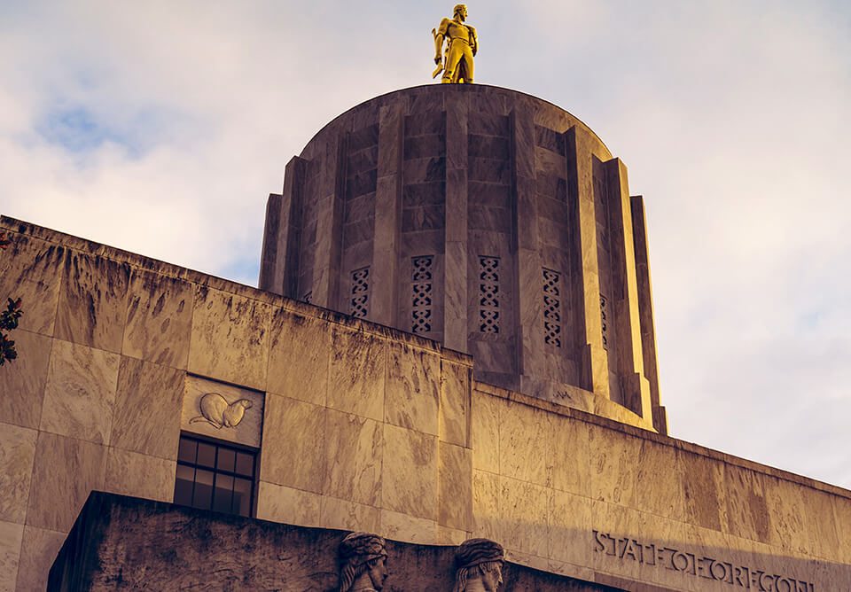 State Capitol building of Oregon